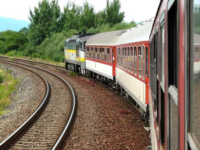 podróżowanie koleją