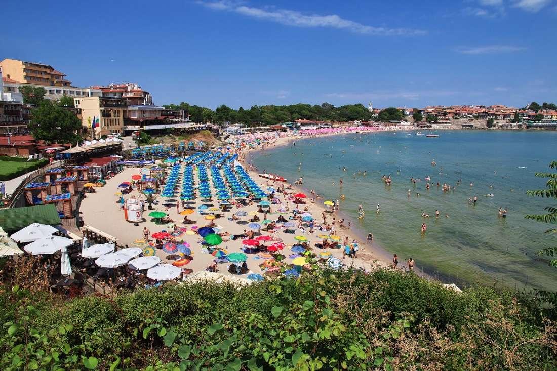 Plaża - Bułgaria - Złote piaski